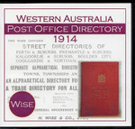 Western Australia Post Office Directory 1914 (Wise)