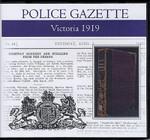 Victoria Police Gazette 1919