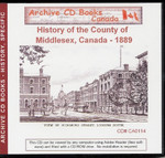 The History of the County of Middlesex, Canada, 1889