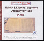Halifax and District Telephone Directory for 1950