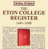 Eton College Register 1441-1698