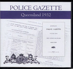 Queensland Police Gazette 1932