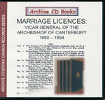 Marriage Licences Canterbury 1660-1694