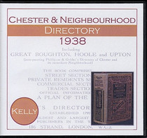 Chester and Neighbourhood 1938 Kelly's Directory