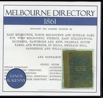 Melbourne Directory 1861 (Sands and Kenny)
