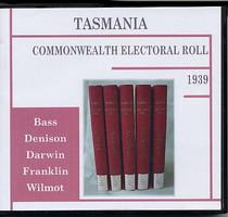 Tasmania Commonwealth Electoral Roll 1939