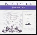 Tasmania Police Gazette 1905