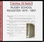 Rugby School Register, Warwickshire 1675-1857