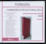 Tasmania Commonwealth Electoral Roll 1939 Bass