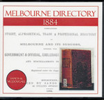 Melbourne Directory 1884 (Sands and McDougall)
