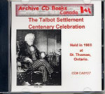 The Talbot Settlement Centenary Celebration 1903