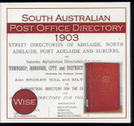 South Australia Post Office Directory 1903 (Wise)