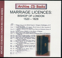 Marriage Licences Bishop of London 1520-1828
