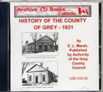 A History of the County of Grey