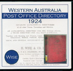 Western Australia Post Office Directory 1924 (Wise)