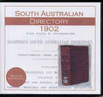 South Australian Directory 1902 (Sands and McDougall)