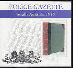 South Australian Police Gazette 1916