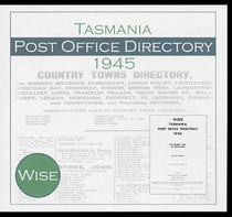 Tasmania Post Office Directory 1945 (Wise)