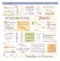Deja Views 12x12 Fresh Verse: Family Ties Vellum