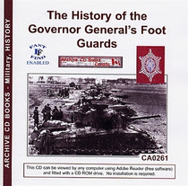 The History of the Governor General's Foot Guards