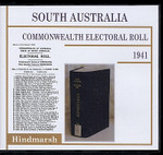 South Australia Commonwealth Electoral Roll 1941 Hindmarsh