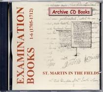 Settlement Examination Books 1-6 (1705-1712)