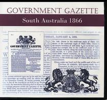 South Australian Government Gazette 1866