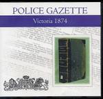 Victoria Police Gazette 1874
