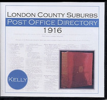 London 1916 (Suburbs) Kelly's Post Office Directory