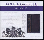 Victoria Police Gazette 1921