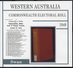 Western Australia Commonwealth Electoral Roll 1949 Swan 1