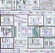 Deja Views 12x12 Fresh Print: My Story Vellum