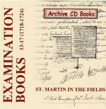 Settlement Examination Books 13-17 (1718-1724)