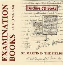 Settlement Examination Books 13-17 (1718-1724)