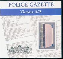 Victoria Police Gazette 1875