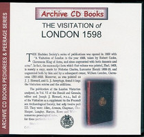 Visitation of London 1598
