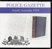 South Australian Police Gazette 1918