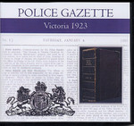 Victoria Police Gazette 1923