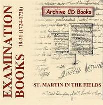 Settlement Examination Books 18-21 (1724-1728)