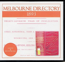 Melbourne Directory 1893 (Sands and McDougall)