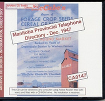 Manitoba Provincial Telephone Directory: December 1947