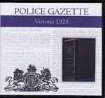 Victoria Police Gazette 1924
