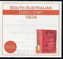 South Australian Directory 1924 (Sands and McDougall)