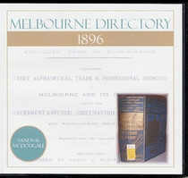 Melbourne Directory 1896 (Sands and McDougall)