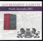 South Australian Government Gazette 1867