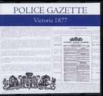 Victoria Police Gazette 1877