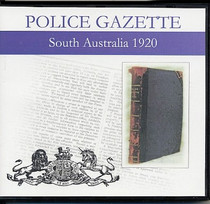 South Australian Police Gazette 1920