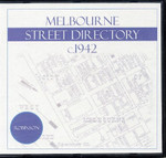 Melbourne Street Directory (Robinson) 1st Edition c.1942