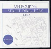 Melbourne Street Directory (Robinson) 1st Edition c.1942