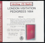 London Visitation Pedigrees 1664